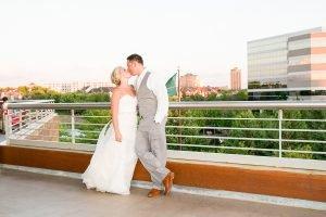 Edina Wedding Pinstripes
